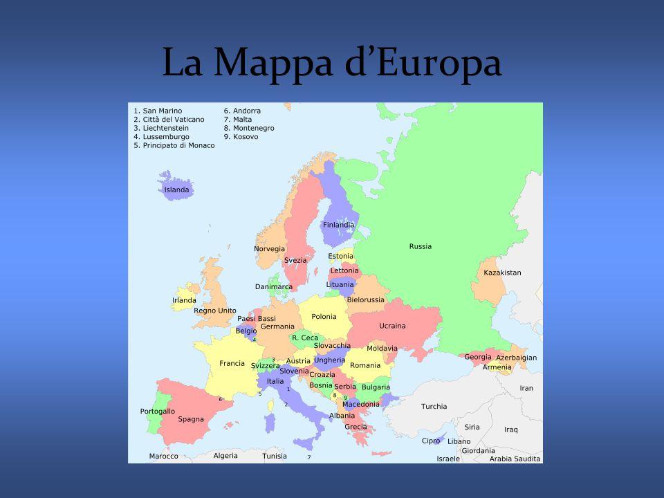 La Mappa d'Europa
