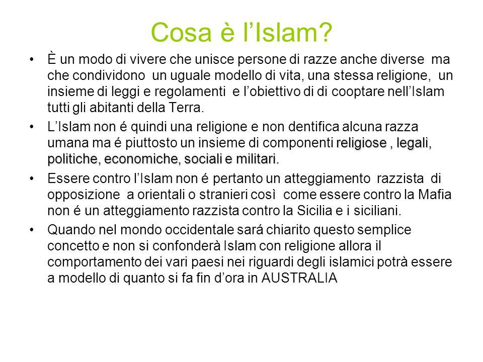 Cosa è l'Islam.
