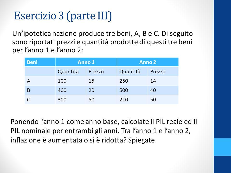 Esercizio 23 (parte II) Imposte proporzionali al reddito aumentano il moltiplicatore.
