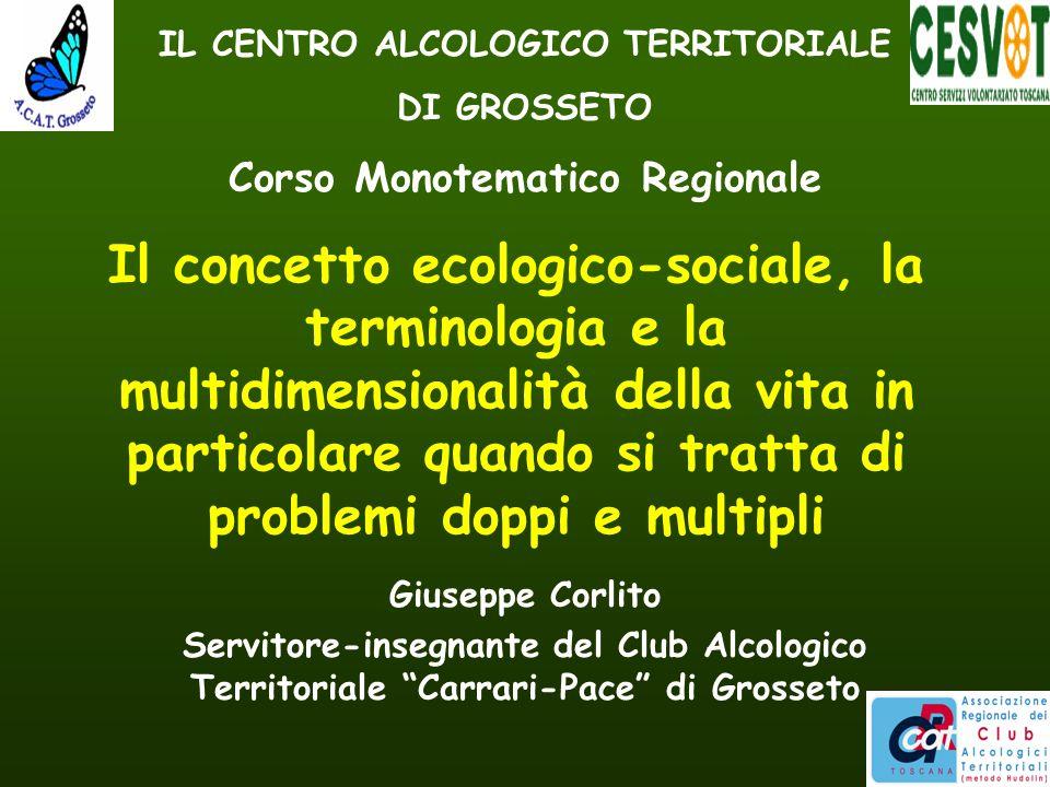 Il concetto ecologico-sociale, la terminologia e la multidimensionalità della vita in particolare quando si tratta di problemi doppi e multipli Giusep