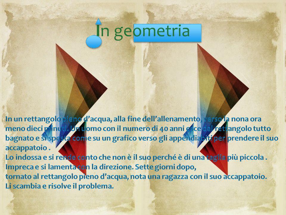 In geometria