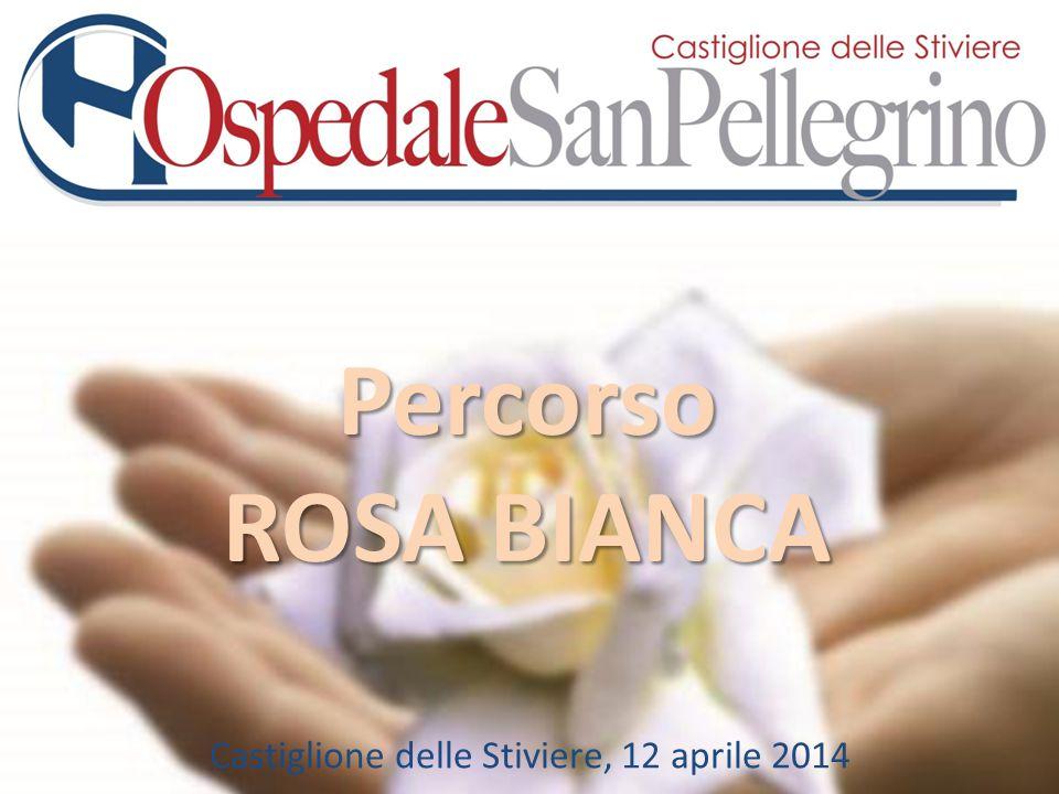 Percorso ROSA BIANCA Castiglione delle Stiviere, 12 aprile 2014