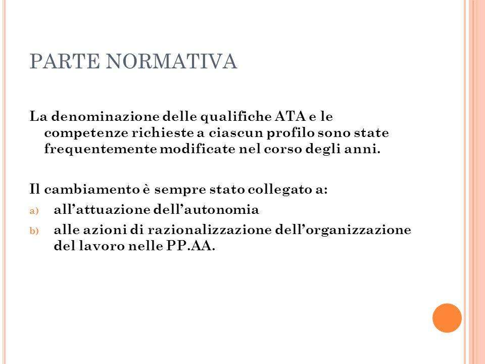 PARTE ECONOMICO-RETRIBUTIVA D.P.R.del 4/9/2013 n.