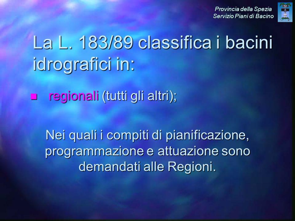 n regionali (tutti gli altri); La L.