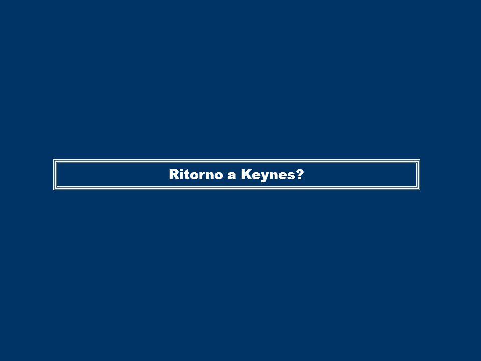 Ritorno a Keynes?