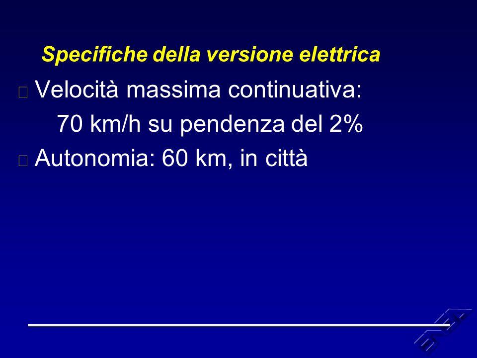 Dinamica dell'autoveicolo: a velocità costante Il prodotto della forza motrice per la velocità è la potenza (istantanea) richiesta alle ruote.