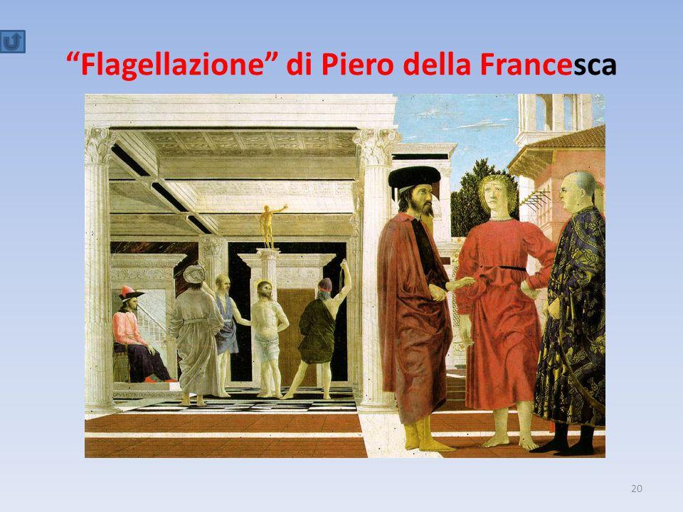 """""""Flagellazione"""" di Piero della Francesca 20"""