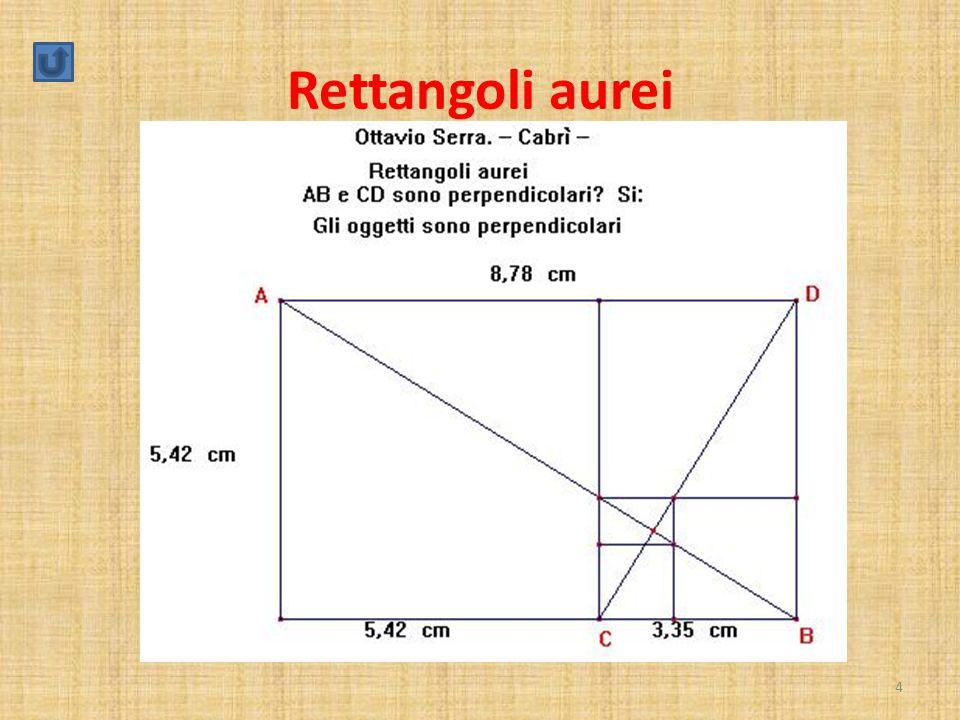 Come si dimostra che i segmenti AB e CD sono perpendicolari.