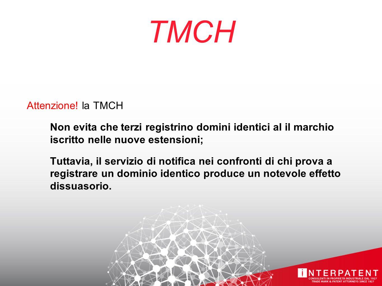 TMCH Attenzione.