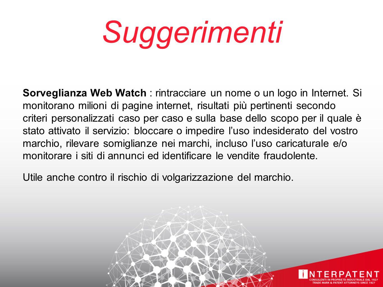 Suggerimenti Sorveglianza Web Watch : rintracciare un nome o un logo in Internet.