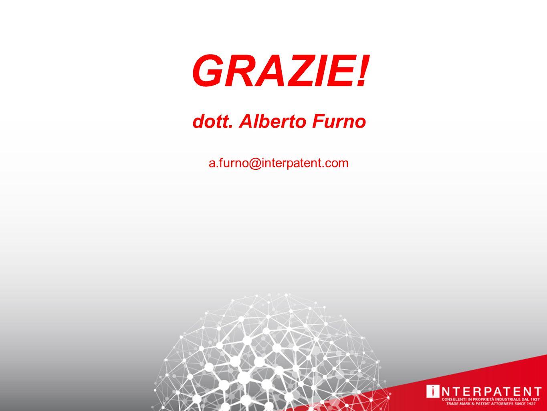 GRAZIE! dott. Alberto Furno a.furno@interpatent.com