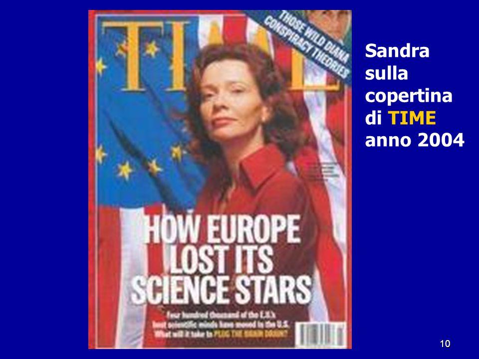 10 Sandra sulla copertina di TIME anno 2004
