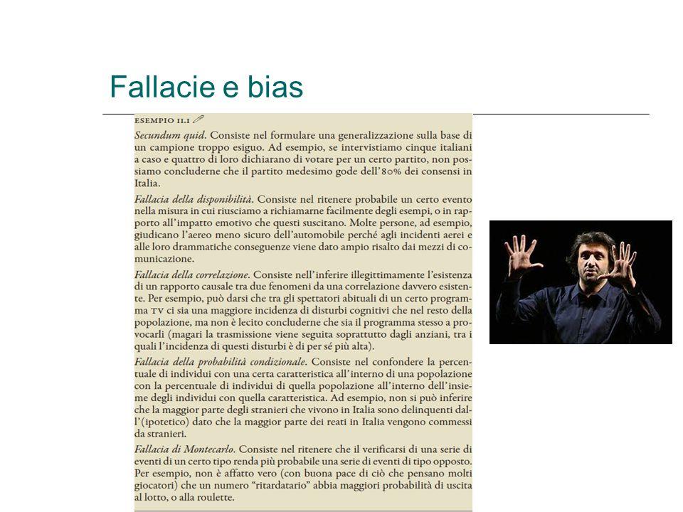 Fallacie e bias