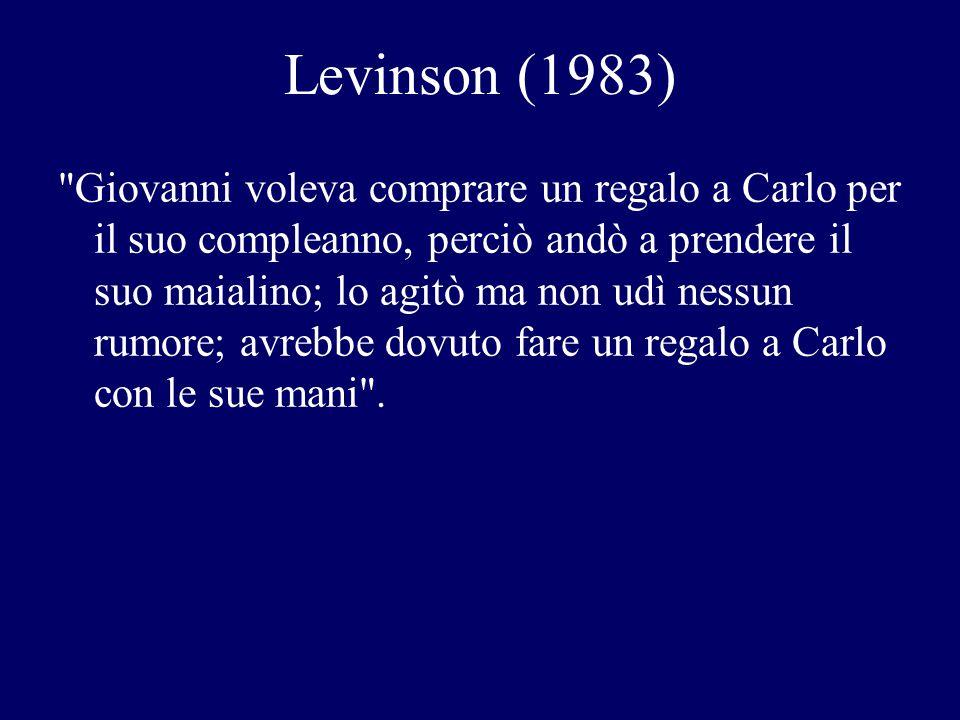 Levinson (1983)