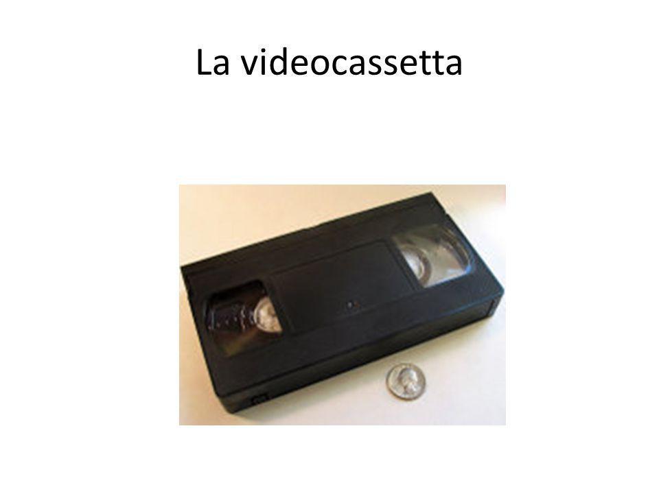 La videocassetta