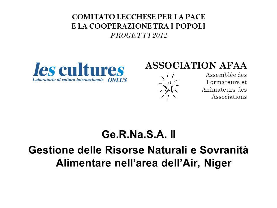 COMITATO LECCHESE PER LA PACE E LA COOPERAZIONE TRA I POPOLI PROGETTI 2012 Realizzazione di un deposito di compostaggio