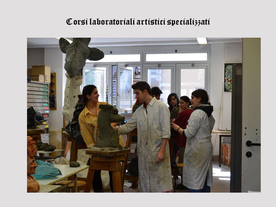 Corsi laboratoriali artistici specializzati