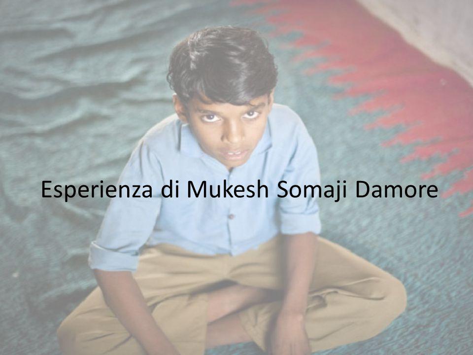 Esperienza di Mukesh Somaji Damore