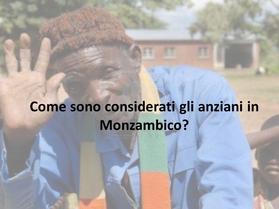 Come sono considerati gli anziani in Monzambico?
