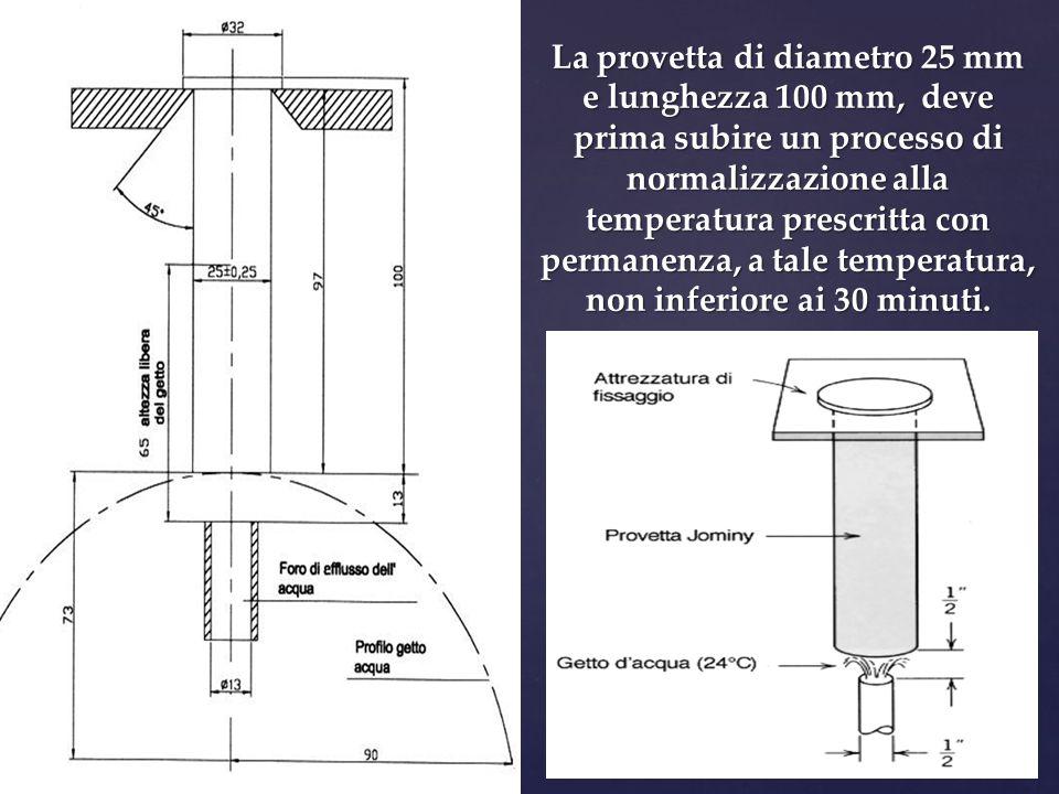   La provetta deve essere riscaldata alla temperatura di prova per almeno 20 minuti e mantenuta a tale temperatura per altri 30 minuti.