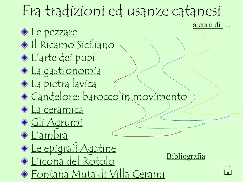LE PEZZARE Anche la Sicilia, come la Sardegna e tante altre Regioni del centro-sud ha una propria tradizione nella produzione di tappeti artigianali, tramandata esclusivamente da donne e oggi quasi a rischio d estinzione.