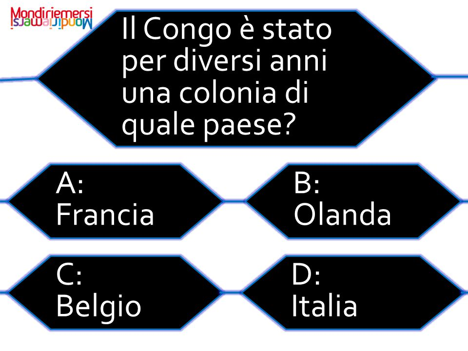 Il Congo è stato per diversi anni una colonia di quale paese.