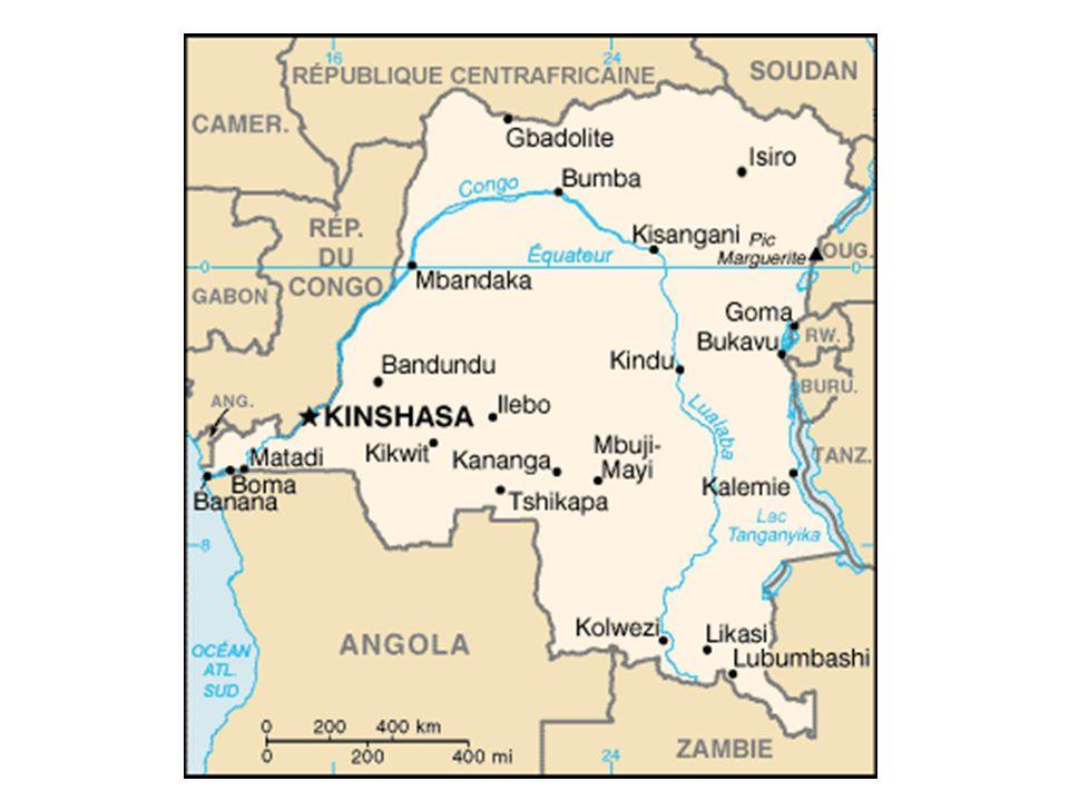 Quanti parchi naturali del Congo sono Patrimonio mondiale dell'umanità (UNESCO)? A: 1 C: 5D: 7 B: 3