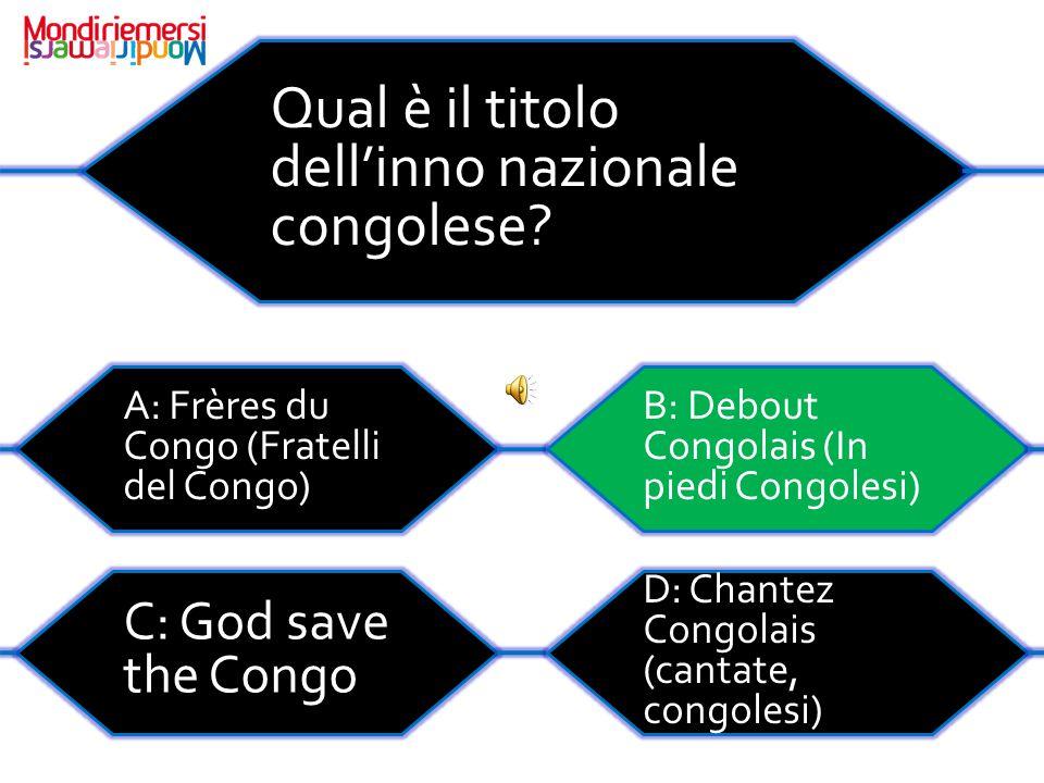 Qual è il titolo dell'inno nazionale congolese.