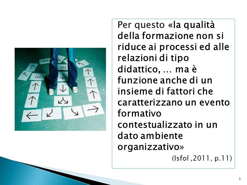 46 Il «modello italiano» di valutazione del sistema di istruzione e di formazione