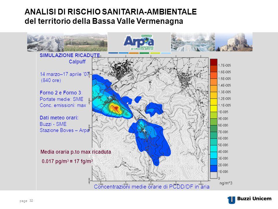 page 32 ANALISI DI RISCHIO SANITARIA-AMBIENTALE del territorio della Bassa Valle Vermenagna