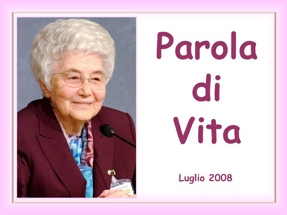 Parola di Vita Luglio 2008