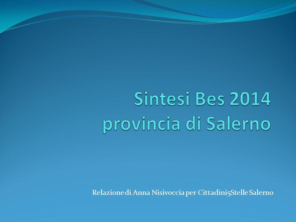 Relazione di Anna Nisivoccia per Cittadini5Stelle Salerno