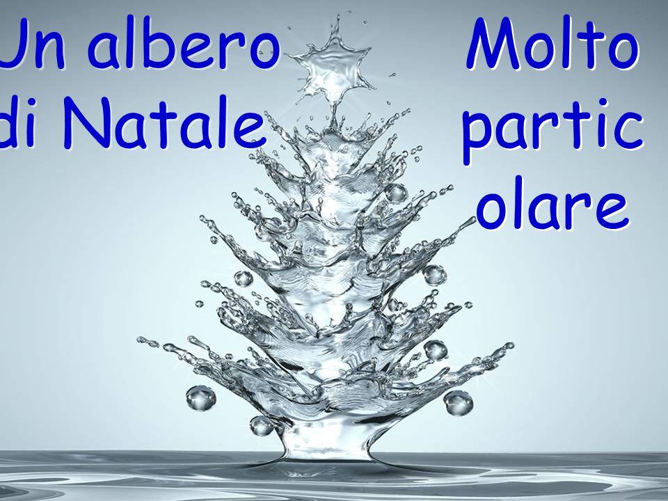 Un albero di Natale Molto partic olare