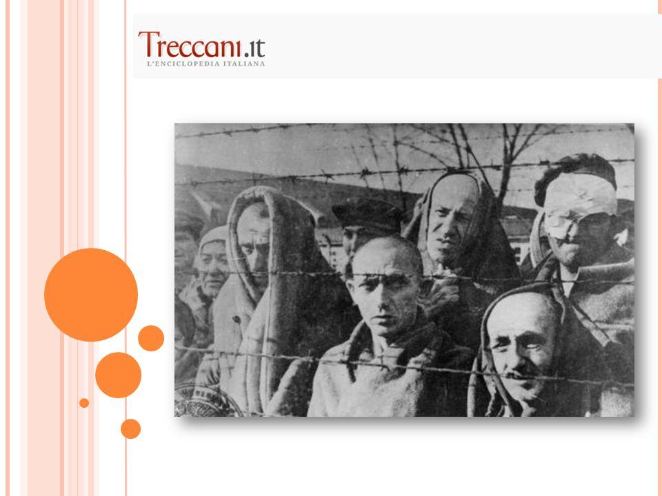 Diari o memoriali dei deportati Elaborazioni letterarie Opere sociologiche e storiche Testi sulla realtà concentrazionaria