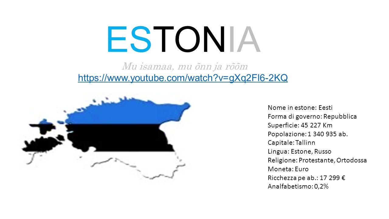 I colori della bandiera estone simboleggiano la lotta per l'indipendenza.