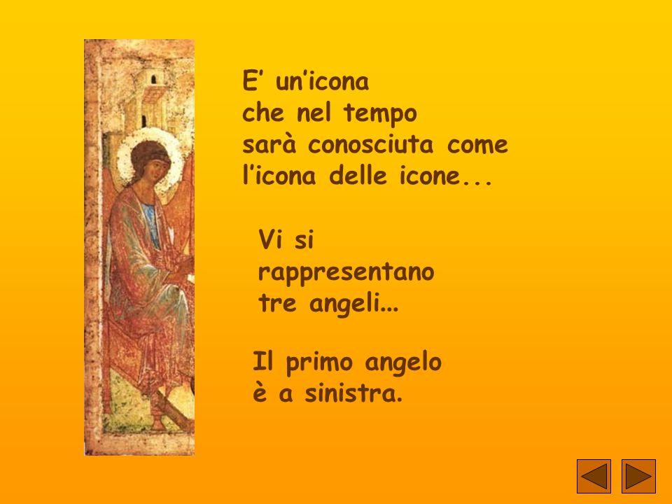 Corre l'anno 1411. Un monaco pittore Progetta un'icona... Con delicatezza traccia le ultime linee.