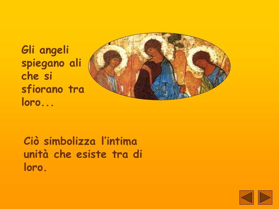 L'icona rappresenta la visita di tre angeli ad Abraham, presso la quercia di Mambre... (Genesis 18, 1-15).