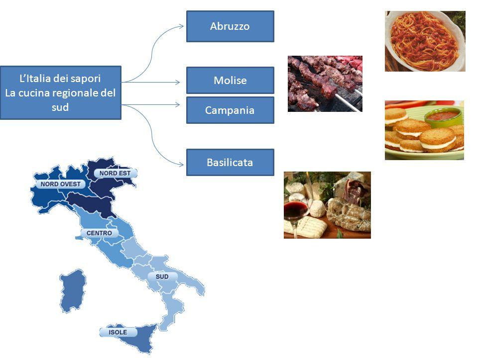 L'Italia dei sapori La cucina regionale del sud Abruzzo Molise Campania Basilicata