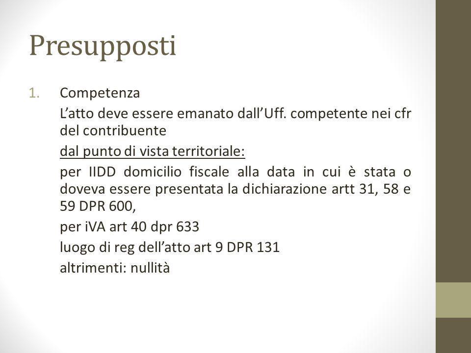 Altro interpello ex art.37 bis, VIII, DPR N. 600 8.