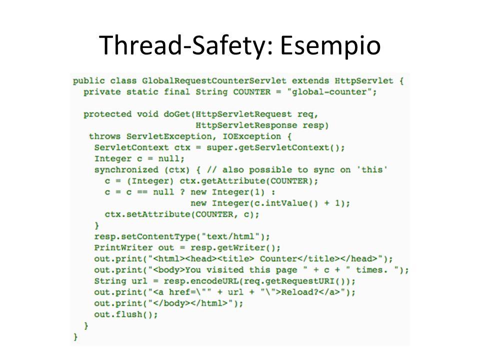 Thread-Safety: Esempio