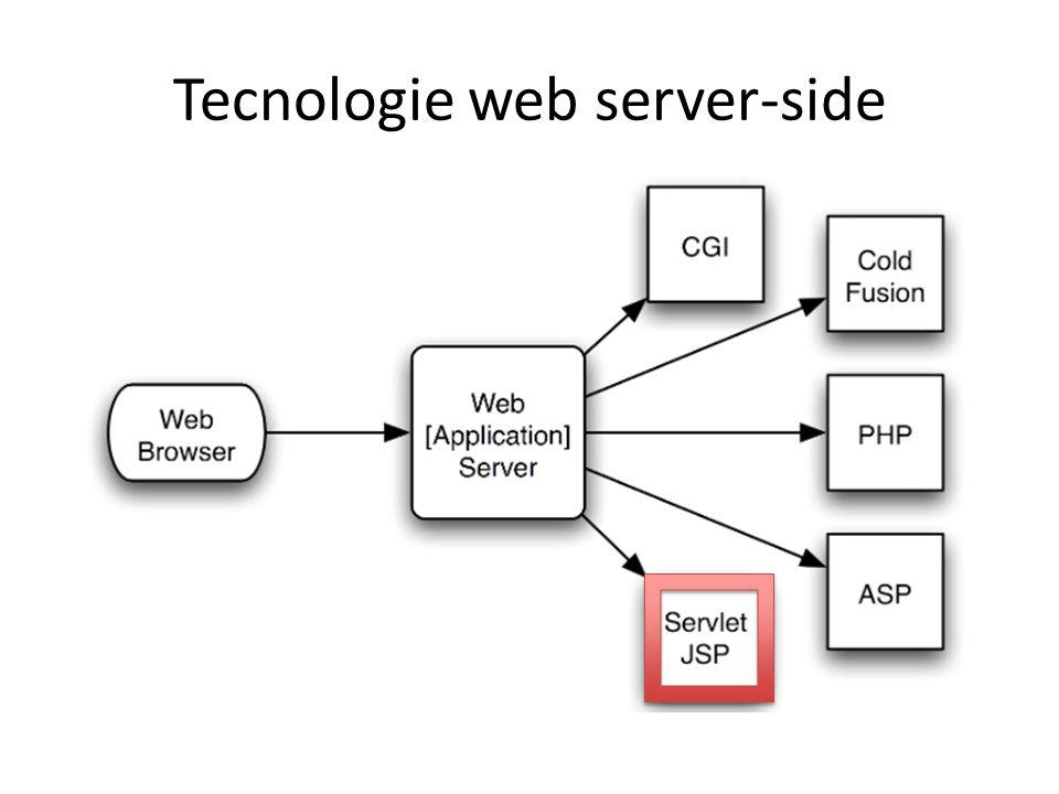 Tecnologie web server-side