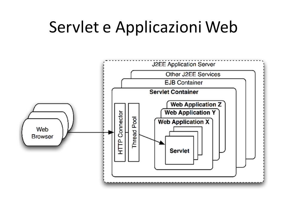 Servlet e Applicazioni Web
