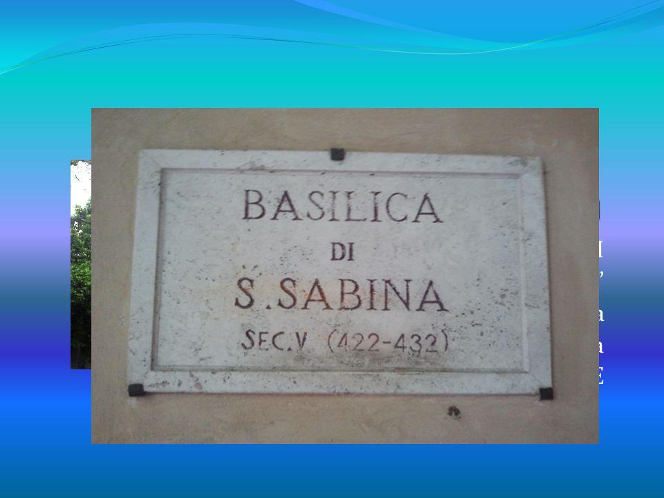 di Camilla Mucci 1I G. G. BELLI Col Di Lana Ricerca Basilica di San Saba Roma BUONA VISIONE
