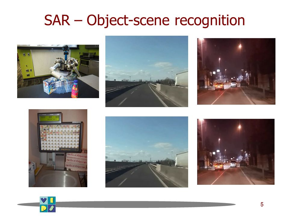 5 SAR – Object-scene recognition