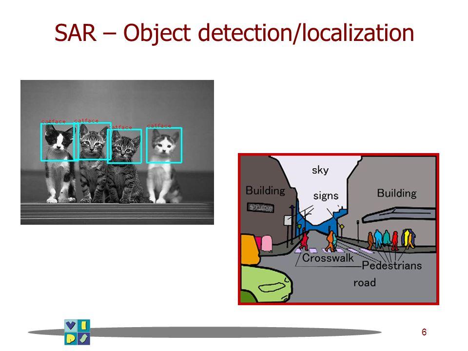 7 SAR – Motion detection