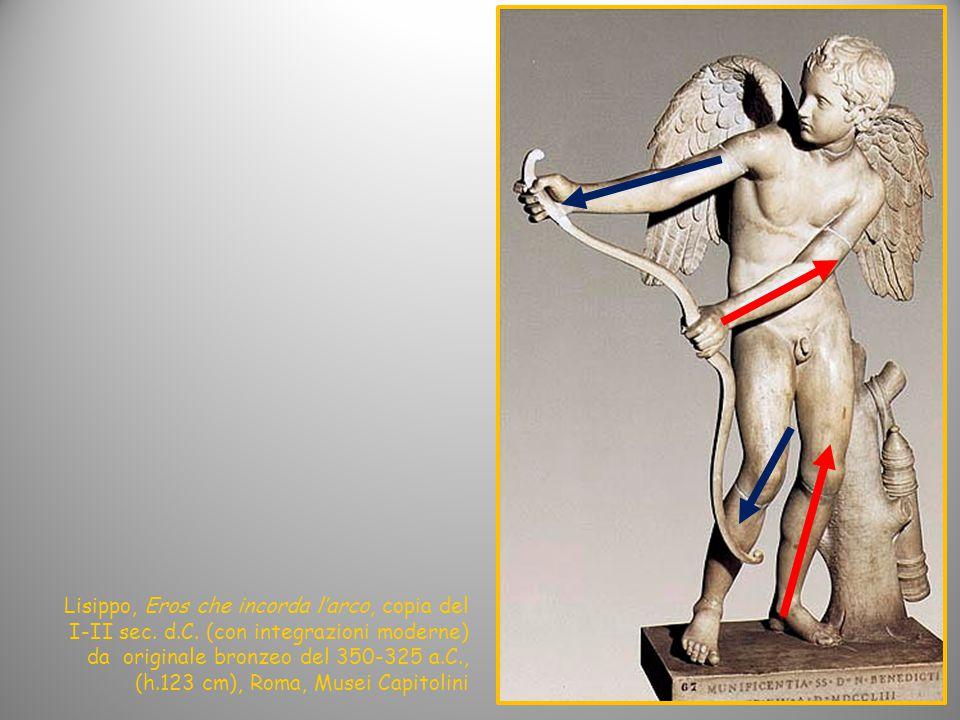 Lisippo, Eros che incorda l'arco, copia del I-II sec.