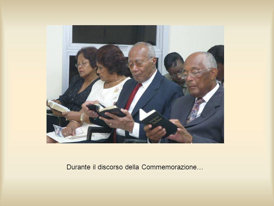 Durante il discorso della Commemorazione…
