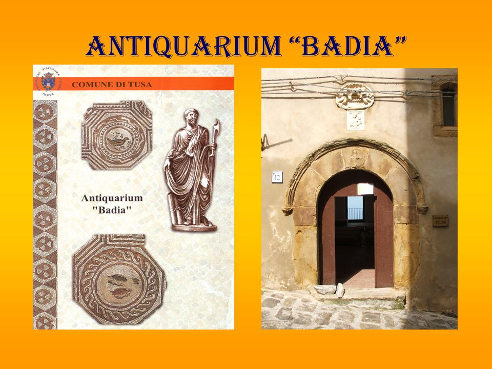 ANTIQUARIUM BADIA