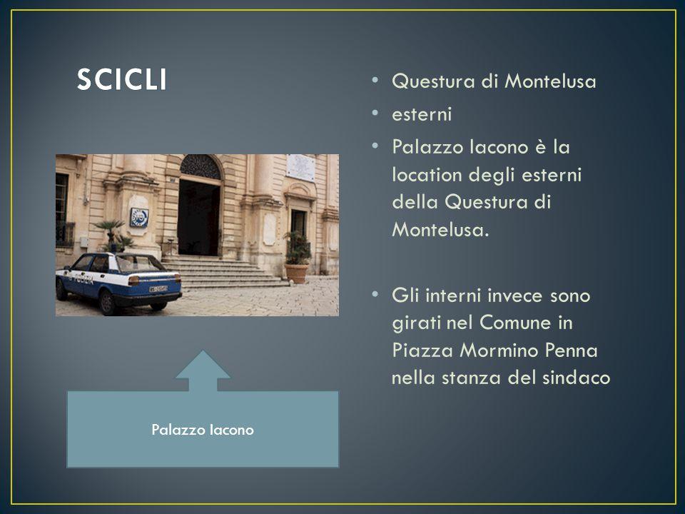 Questura di Montelusa esterni Palazzo Iacono è la location degli esterni della Questura di Montelusa.