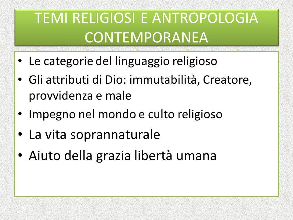 Antropologia e precatechesi Il significato ultimo dell'uomo non è nell'uomo Quali metodi antropologici seguire?